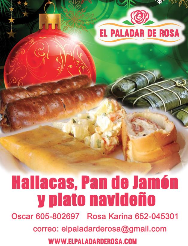 Plato navideño venezolano
